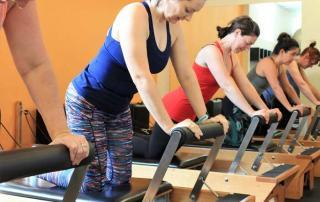 Reformer pilates classes in Holland Park