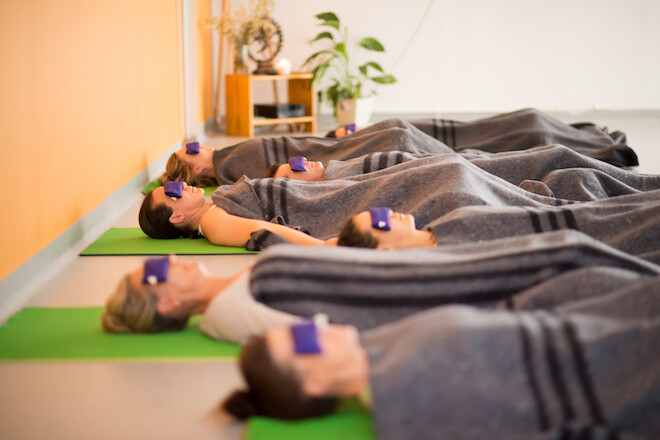 Yoga Nidra class in Holland Park