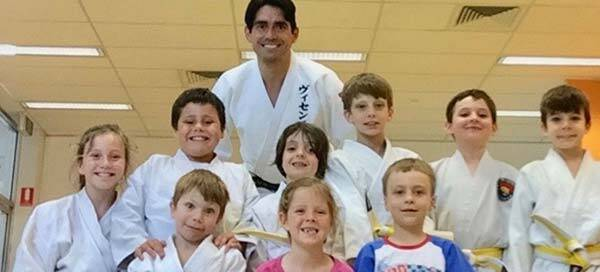 Little warriors judo training Brisbane