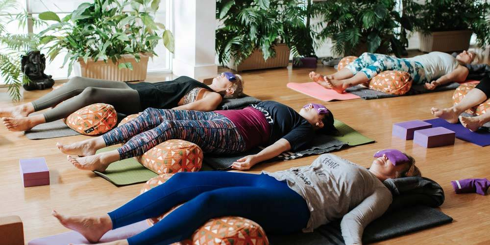 Yoga Nidra teacher training class