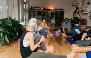 Budget yoga class for beginners in Brisbane