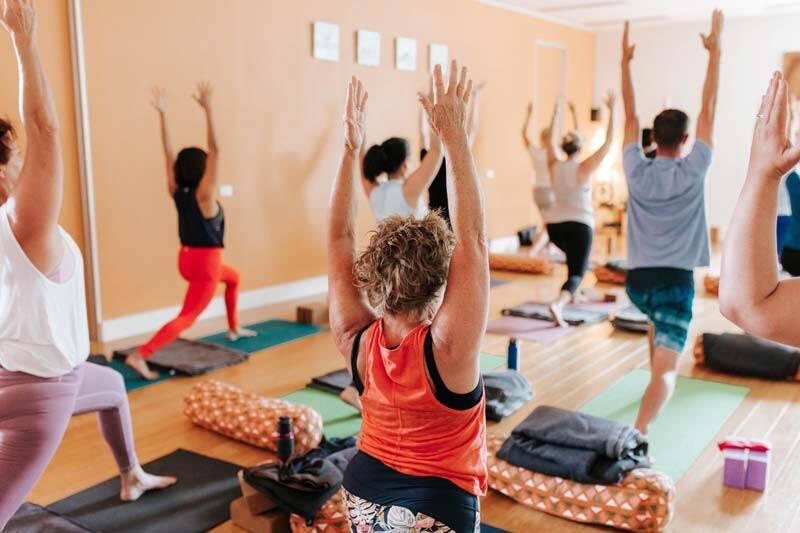 yoga in Brisbane Holland Park