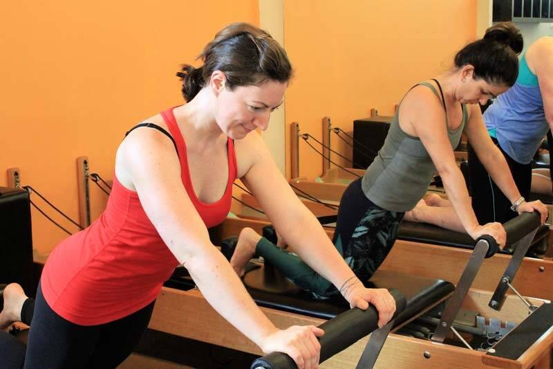 Pilates Reformer class in Brisbane