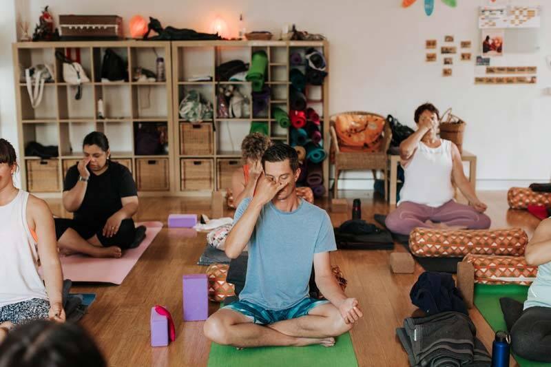 Yoga class in Brisbane